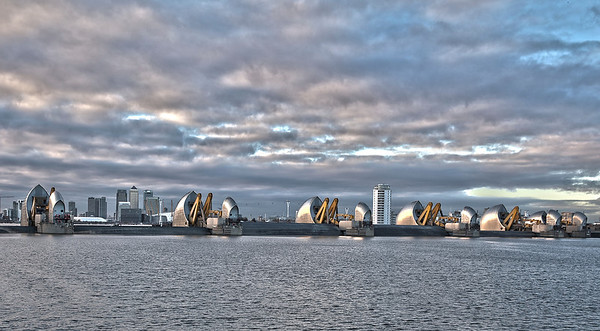 London Thames Barrier at Woolwich