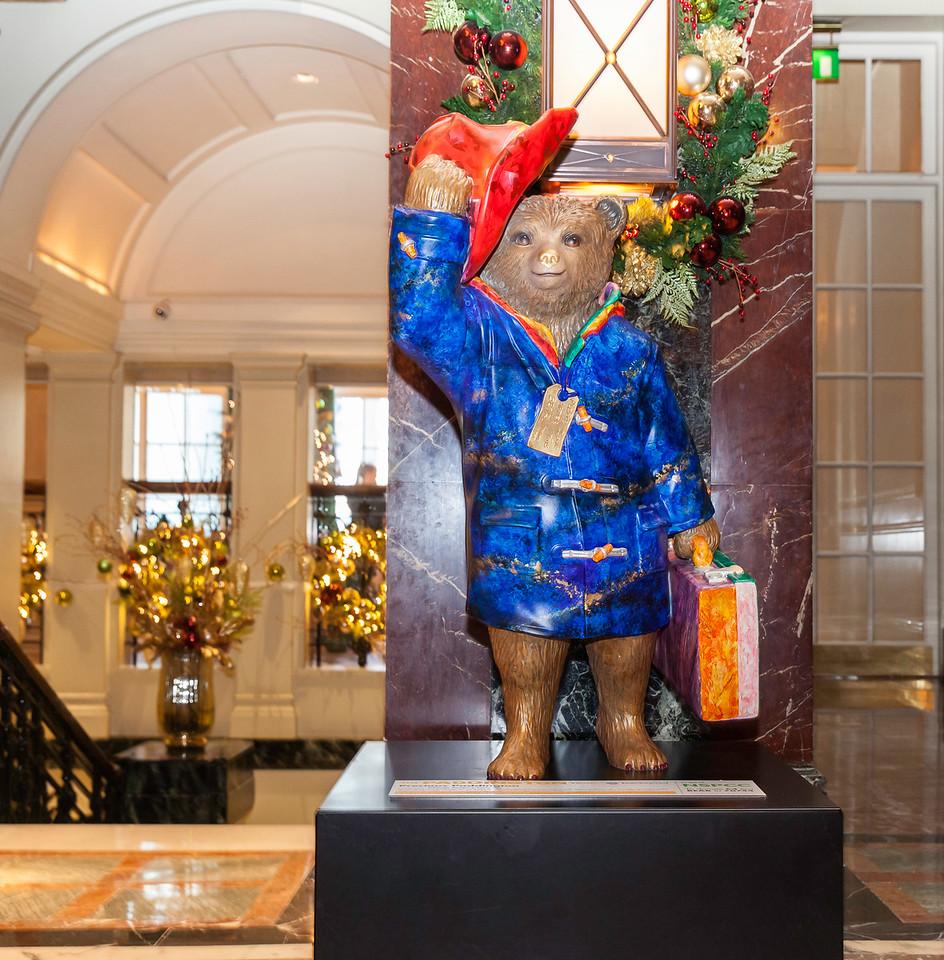Paddington Bear in Knightsbridge London